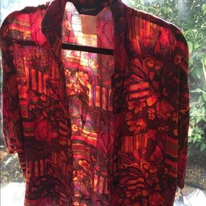 Vintage Options Melrose button down vibrant shirt